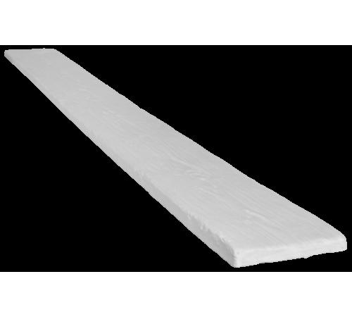 Доска рустик 190х20 белый (2 пог м)