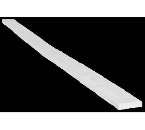 Доска рустик 90х20 белый (1 пог м)