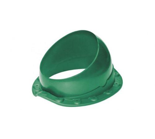 Основание вент. трубы для м/ч Base-VT WAVE 125/150 Krovent  зеленый