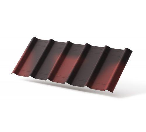 Лист битумный Ондувилла красный 3D 0,4х1,06м