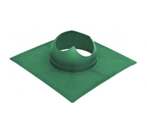Основание вентиляционной трубы Base-VT Krovent  зеленый (для мягкой кровли)
