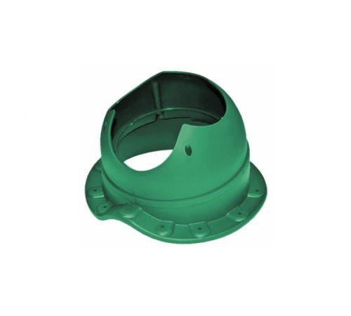 Основание вентиляционной трубы WAVE Base-VT Krovent зеленый (для мет/черепицы)