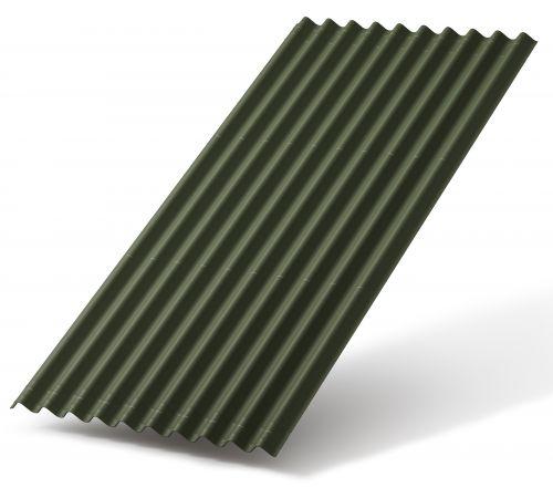 Битумный лист Ондулин SMART 0.95*1,95 м зеленый