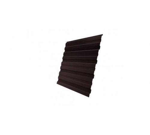 Профнастил С10В 0,5 Satin RAL 8017 шоколад