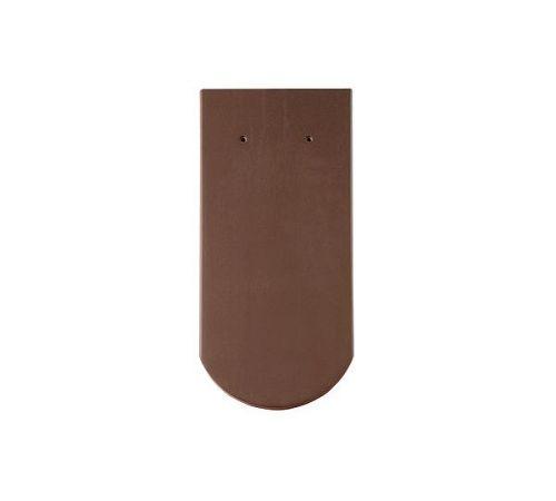 Цельная чер. Опал матовый т-коричневый  BRAAS