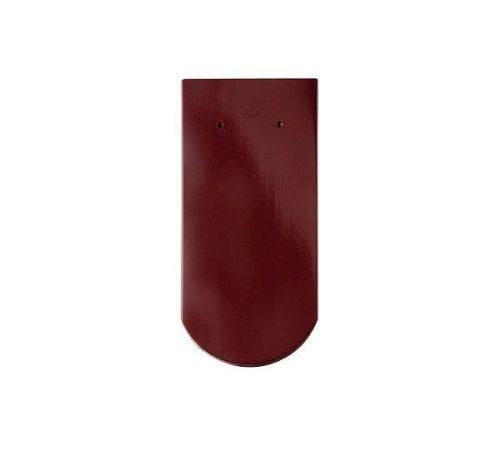 Цельная чер.Опал глазурь красный бук BRAAS