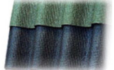 Битумный волнистый лист