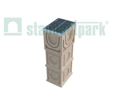 Дождеприемный колодец CompoMax ДК-30.38.44-П-Н 7770/3
