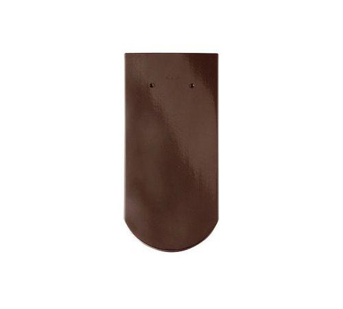 Цельная чер.Опал глазурь тик(коричневый) BRAAS