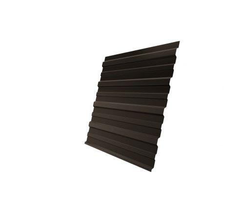 Профнастил С10А Grand Line 0,5 Atlas RR 32 темно-коричневый