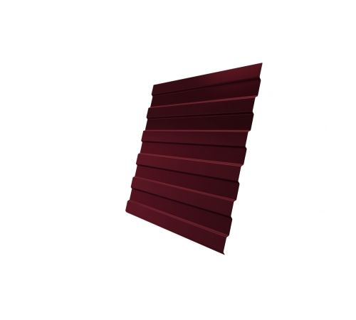 Профнастил С8А 0,4 PE RAL 3005 красное вино