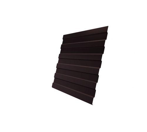 Профнастил С8А 0,4 PE RAL 8017 шоколад
