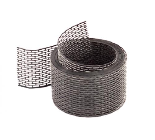 Вентиляционная лента 5м*0,1 ПВХ черный