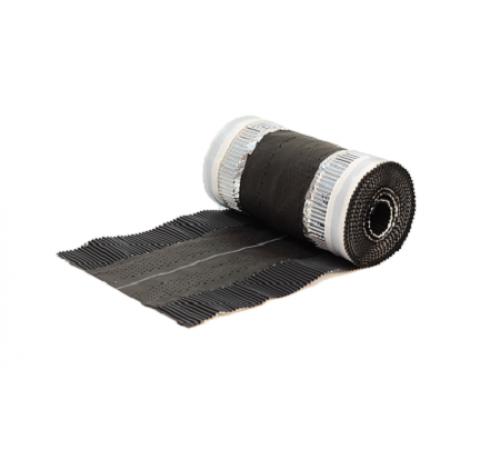 Аэроэлемент конька/хребта Universal,черный 5х0,295м,Klober