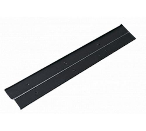 Планка примыкания 72х200мм,алюминий, черный,2м,Klober