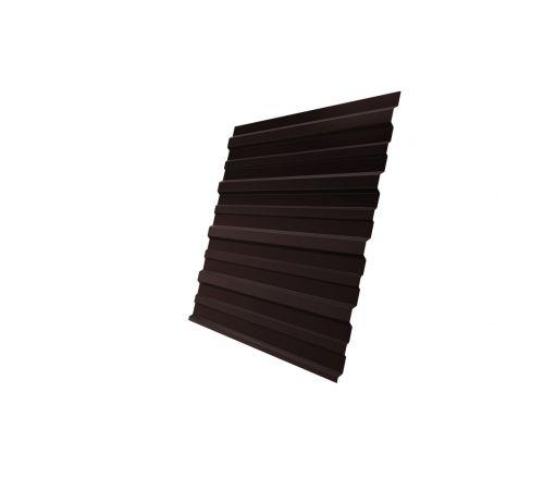 Профнастил С10A 0,4 PE RAL 8017 шоколад
