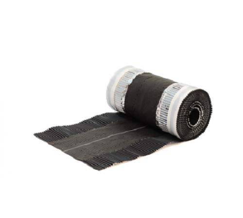 Аэроэлемент конька/хребта Universal,коричневый 5х0,295м,Klober