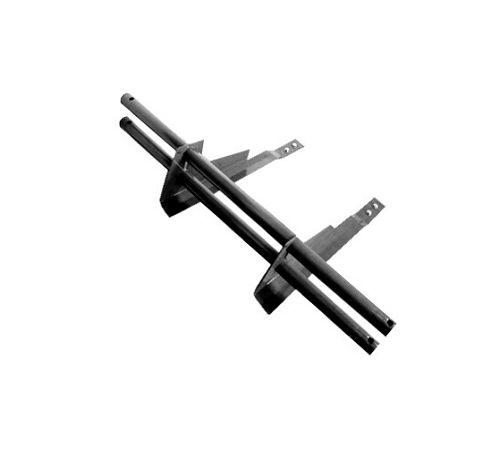 Универсальный  снегозадерживающий элемент д/черепицы,сталь черный