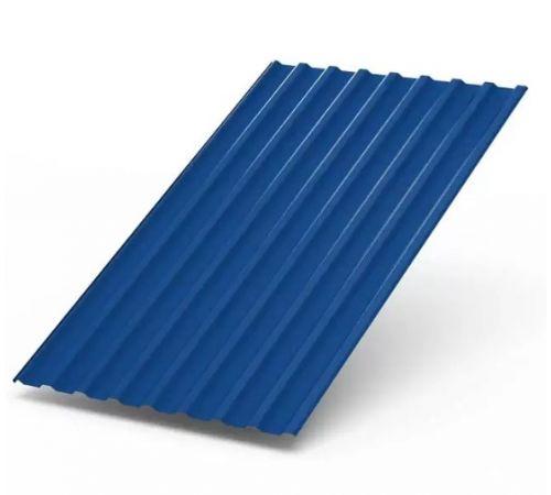 Профилированный лист МП-20 ширина1100мм (0,45-01) полиэстер Цвет=синий (5005)