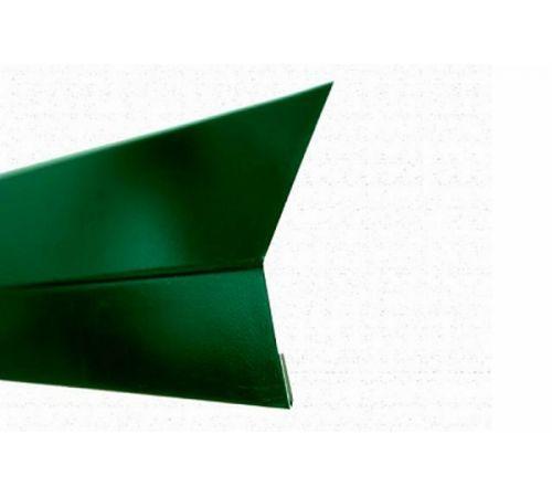 Планка капельник для гибкой черепицы RAL6005 PE