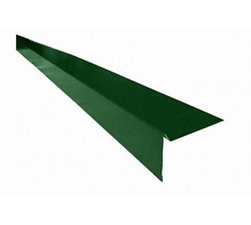 Ветровая планка для гибкой черепицы зеленая
