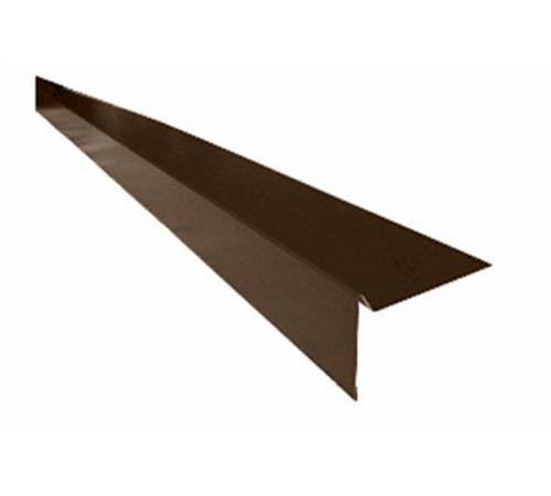 Ветровая планка для гибкой черепицы коричневая