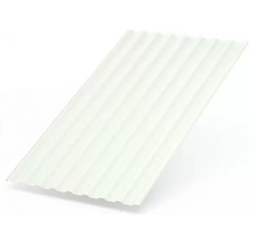 Профилированный лист МП-20 ширина 1100мм (0,45-01) полиэстер Цвет+белый (9003)