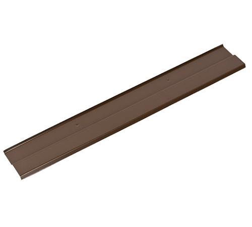 Планка прижимная(алюминий),коричневая,2м,Klober