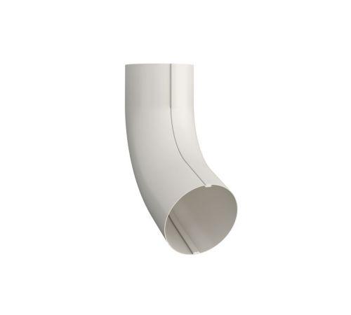 Колено трубы Линдаб(Lindab) ВК70 D=87мм Цвет=белый (001)