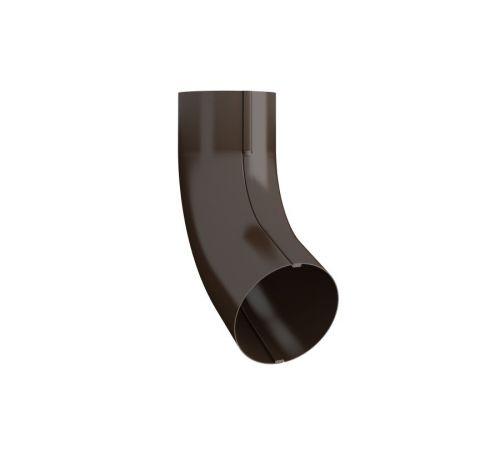 Колено трубы  Линдаб (LIindab) ВК70 D=87мм Цвет=коричневый (434)