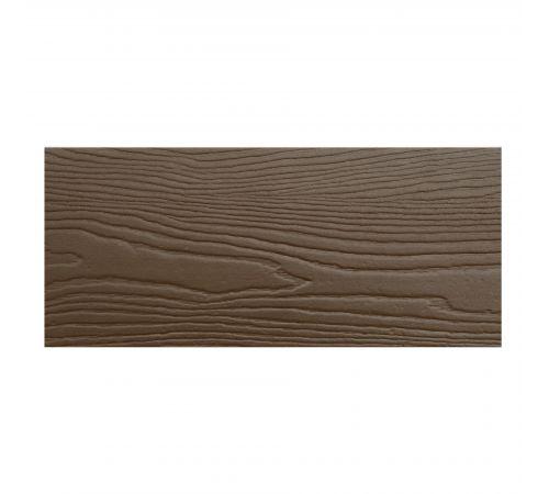Фасадная панель CM BORD коричневая 3000х190х8мм