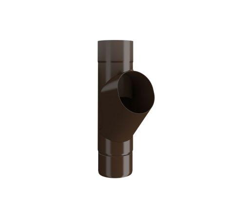 Тройник трубы Линдаб (LIindab) GROR D=87мм Цвет=коричневый (434)