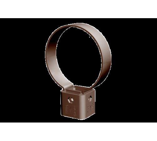 Хомут с креплением 120 мм ДЕКЕ (Docke )PREMIUM шоколад