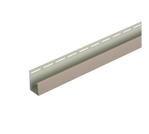 Фасадный J-профиль (бежевый) 3050 мм