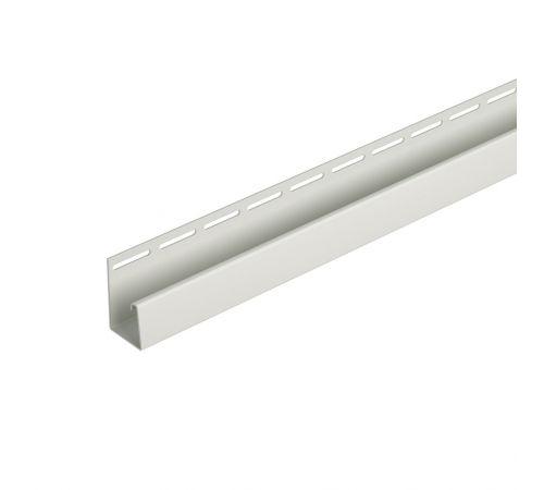 Фасадный J-профиль (дымчатый) 3050 мм