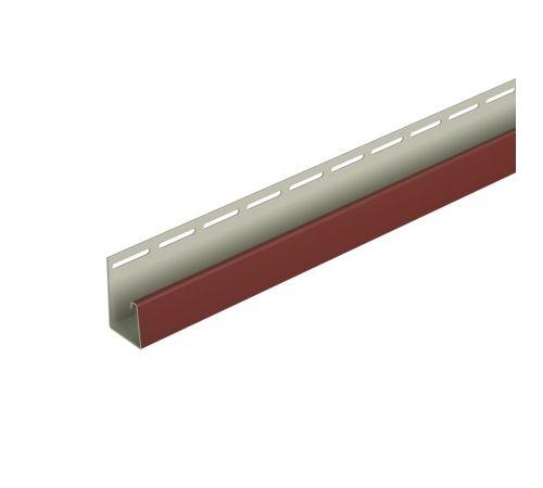 Фасадный J-профиль (табачный) 3050 мм