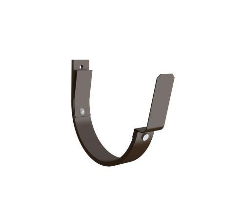 Крюк крепления желоба Линдаб (LIindab)  K07 D=125мм Цвет=коричневый (434)