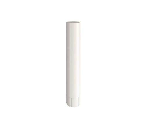 Соединительная труба Линдаб(Lindab) MST D=87мм L=1000мм Цвет=белый (001)