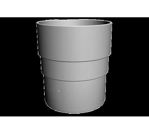 LUX Муфта соединительная ДЕКЕ (Docke) графит