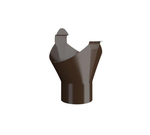 Приемная воронка Линдаб (LIindab) OMV D=125мм Цвет=коричневый  (434)
