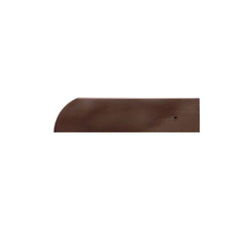 Свесовая чер.Опал глазурь тик (коричневый) BRAAS
