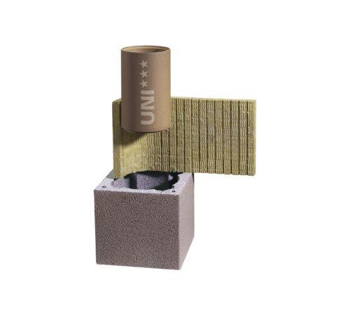 Комплект дымохода Шидель(SCHIDEL) UNI  D=30см  L=0,33 пм одноходовой без вентканала