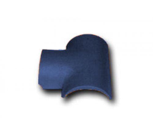 Т-образная черепица синий 030