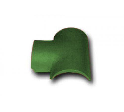 Т-образная черепица зеленый 023