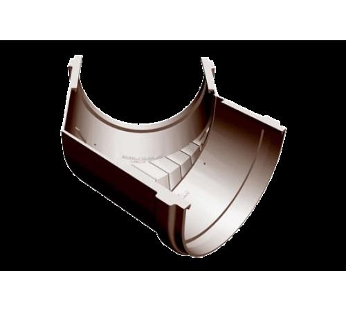 Угловой элемент 135 градусов ДЕКЕ (Docke)PREMIUM каштан