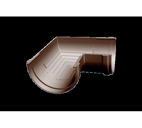 Угловой элемент 90 градусов ДЕКЕ (Docke) PREMIUM шоколад