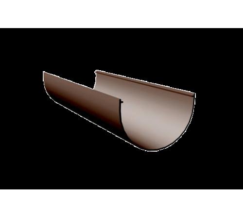 LUX Желоб  3000 мм  D140мм ДЕКЕ (Docke) шоколад