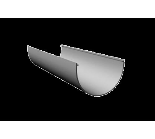 LUX Желоб  3000 мм  D140мм ДЕКЕ (Docke) графит