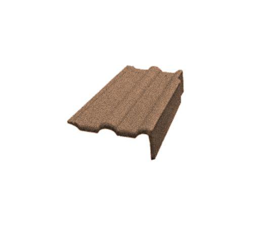 Боковая цементно-песчаная чер. левая Адриа коричневая