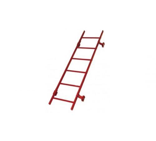 Лестница кровельная Борге (BORGE) 1,8м, теракотовый (RAL8004)